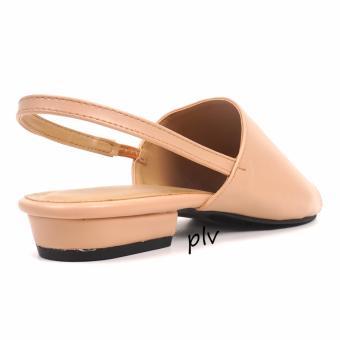 Pluvia - Damira Slingback Heels Sandal DM01 - Cream - 3
