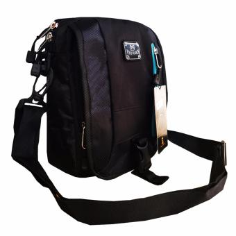 PoIo Search Tas Selempang 8 Inchi 8013-08 Material D600 Nylon Original - Black