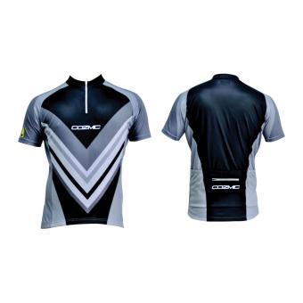 Olahraga Berjalan Lengan Pendek Perempuan T Shirt Pakaian Kebugaran ... 9deb06d4ca