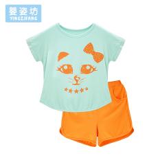 Postur bayi Lapangan bayi baru olahraga gadis jas (Hijau)
