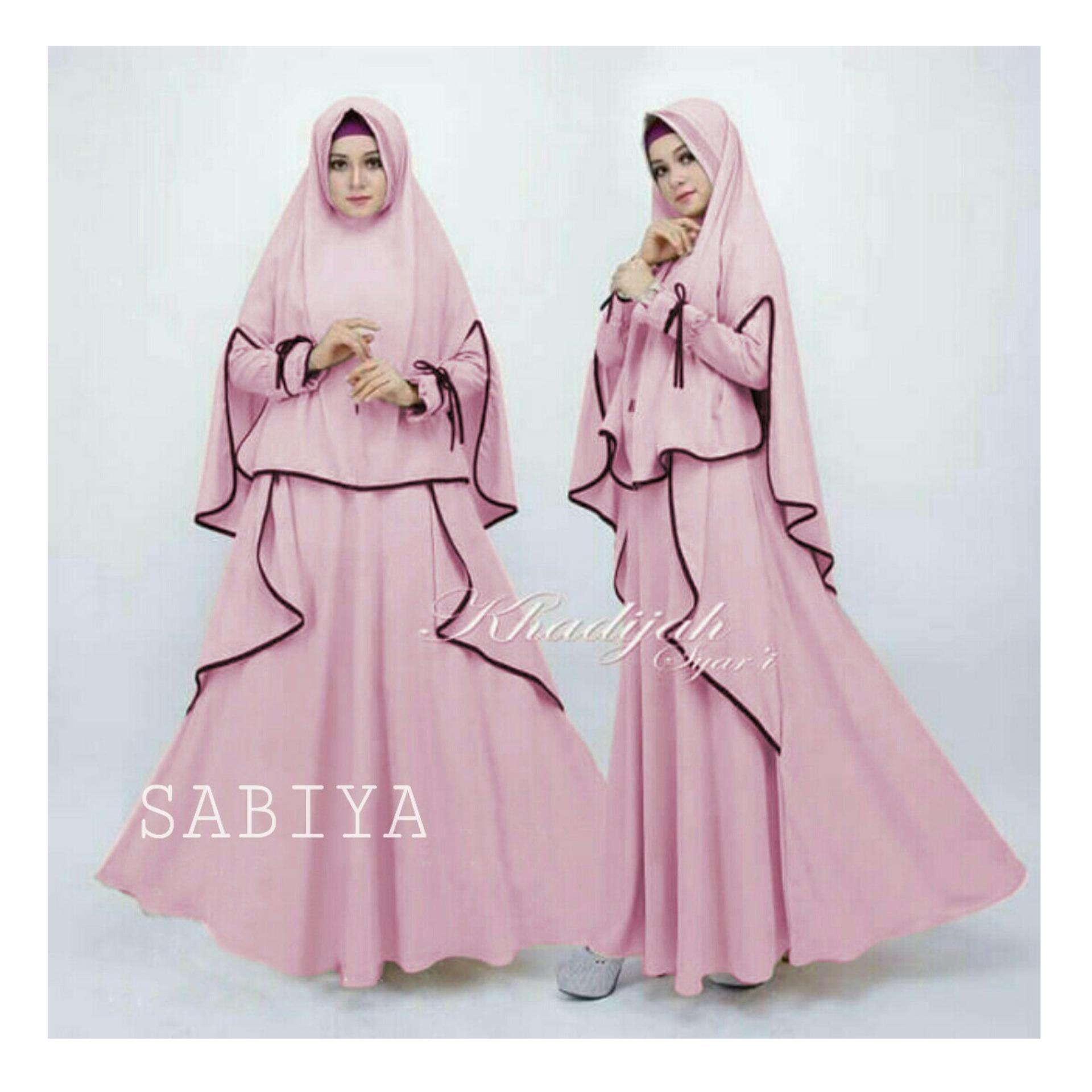 Premierfashionstore Sabiya Syari'i - Pink Dusty