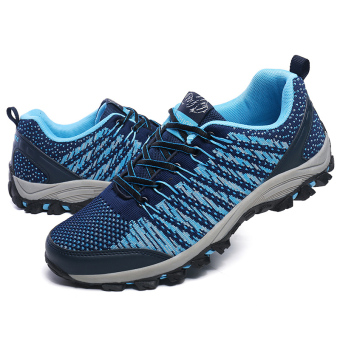Pria bernapas Olahraga Sepatu Hiking Sepatu Gunung Climbing Sepatu Trekking Sepatu Travelling Sepatu Men's Super Breathable Outdoor Sports Shoes Hiking Shoes Mountain Climbing Shoes Trekking Shoes - 4