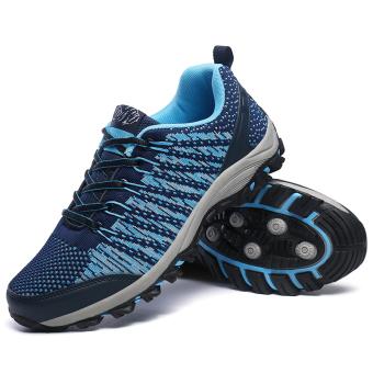 Pria bernapas Olahraga Sepatu Hiking Sepatu Gunung Climbing Sepatu Trekking Sepatu Travelling Sepatu Men's Super Breathable Outdoor Sports Shoes Hiking Shoes Mountain Climbing Shoes Trekking Shoes - 3