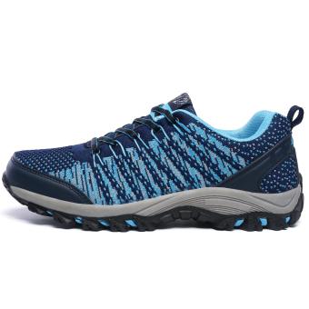 Pria bernapas Olahraga Sepatu Hiking Sepatu Gunung Climbing Sepatu Trekking Sepatu Travelling Sepatu Men's Super Breathable Outdoor Sports Shoes Hiking Shoes Mountain Climbing Shoes Trekking Shoes - 2
