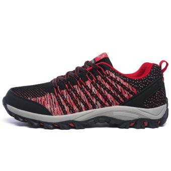 Jual Pria bernapas Olahraga Sepatu Hiking Sepatu Gunung Climbing SepatuTrekking Sepatu Travelling Sepatu Men s Super Breathable OutdoorSports Shoes Hiking ...