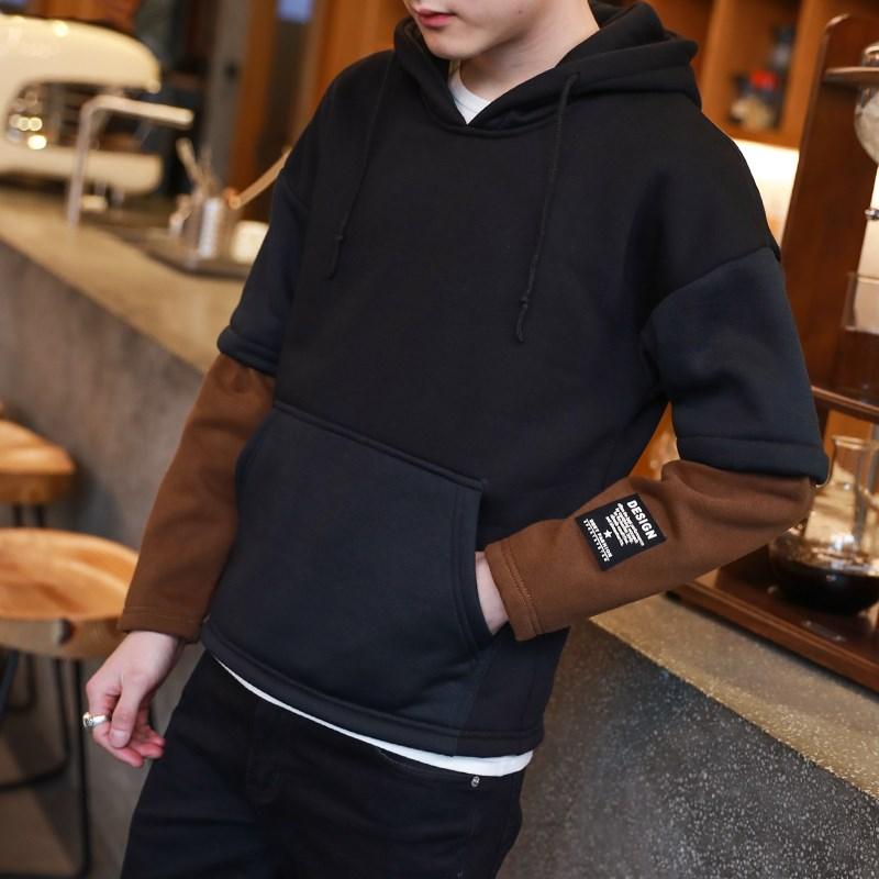 ... Khaki Source · Cheap online Pria yang baru musim semi dan musim gugur versi Korea dari hoodie pullover sweater