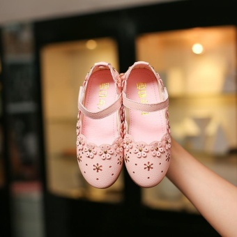 harga Princess Shoes Shoes Hollow Soft Flowers at the End of Shoes - intl Lazada.co.id