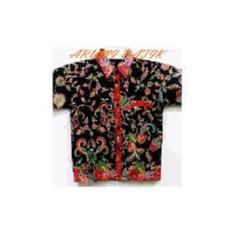 PROMO Kemeja Hem Atasan Baju Batik Anak Laki Laki 1035 MURAH - 4