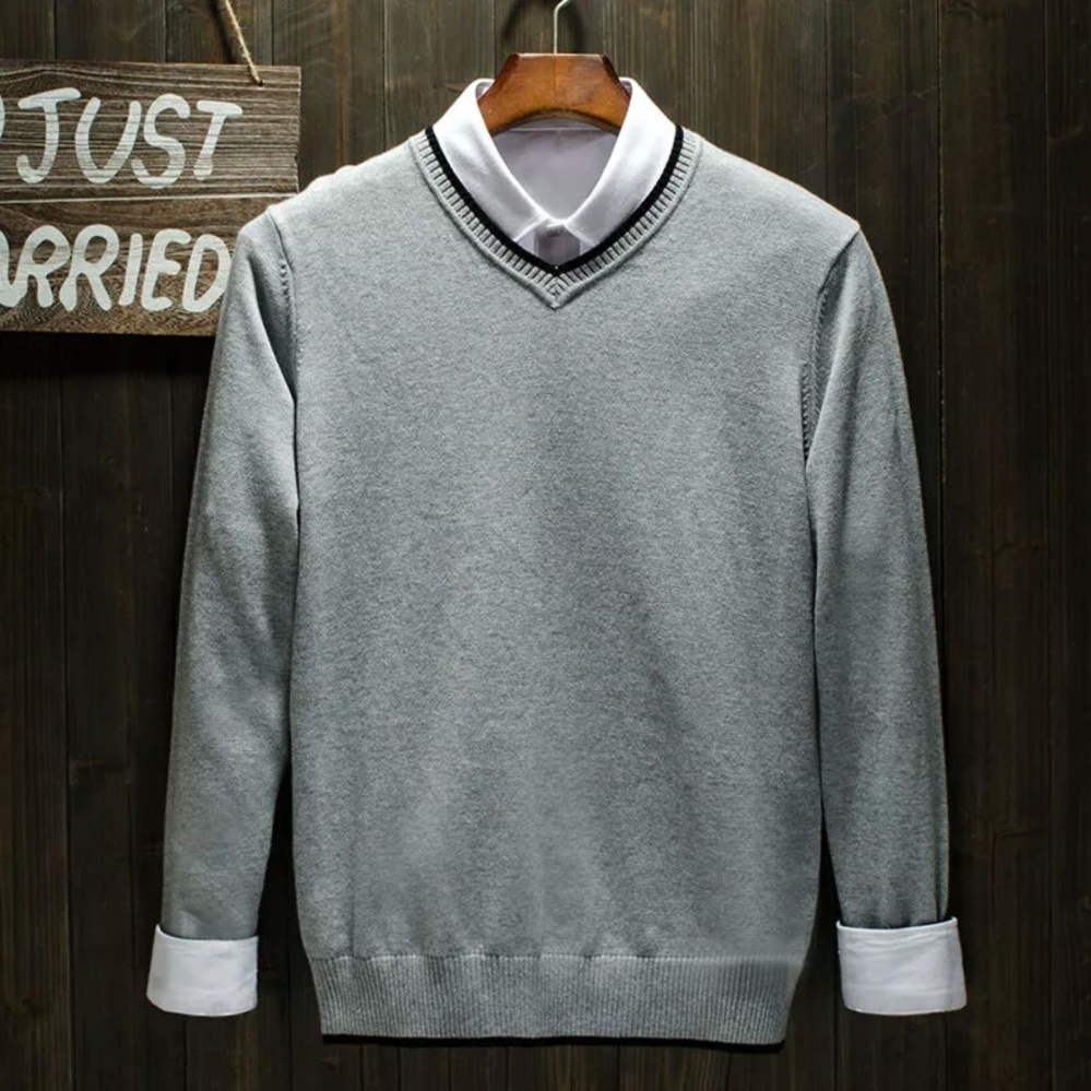 puffy_id sweater POLOS rajut pria -ROMEO ABU-rajut tribal