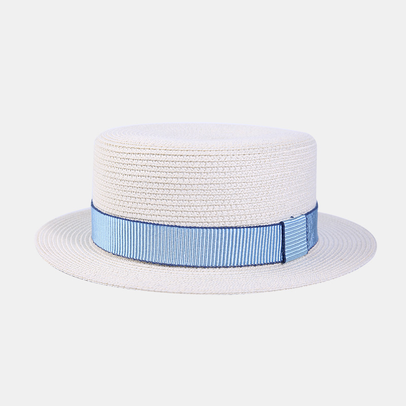 Flash Sale Puisi dan Inggris perempuan musim panas jerami topi topi (Beige) ec2e685f4a