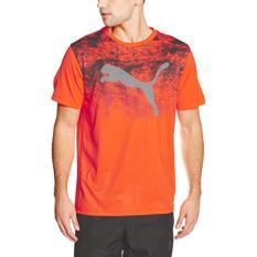 PUMA Kaos Essential Tech Tee - 51455305 - Orange