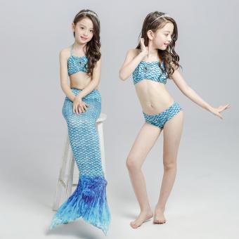 harga Putri Duyung anak-anak baju renang (Langit biru) Lazada.co.id