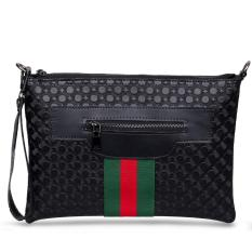 Quincy Label - Sling Bag Kaze List Guocy - Black