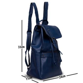 Detail Gambar Produk QuincyLabel Cleo tas ransel wanita   women backpack -  Navy Terbaru 7b59f7ed0e