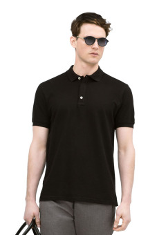 QuincyLabel Men Polo Shirt - Hitam