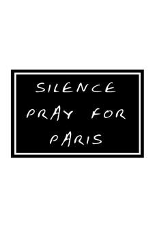 QuincyLabel Pullover 4 Pray For Paris - Hitam - 2
