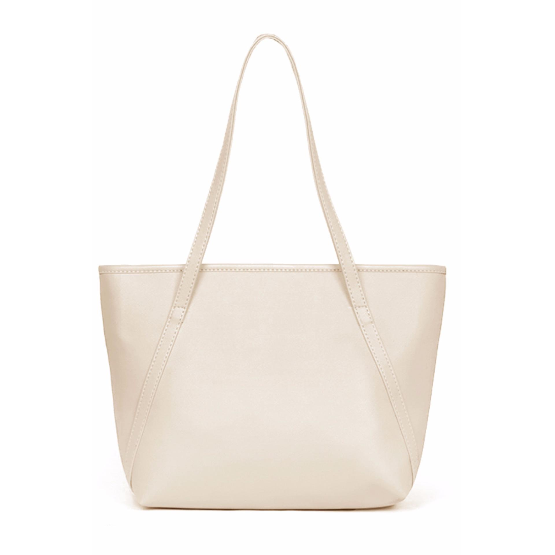 ... Free Legging Footless Black. Source ... QuincyLabel Tas Wanita Women Fashion PU Tote Leather Handbags Shoulder Bags - Beige .