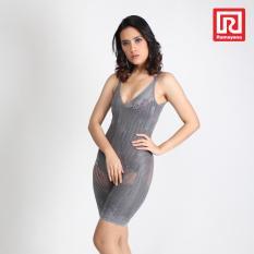 Ramayana - Bamboo Fiber Magnetic - Korset Wanita Full Body 3 Warna Abu - Int:L (07972675)