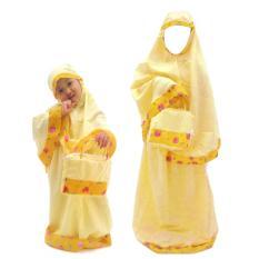 Rasya Set Mukena+Tas anak strawberry -Yellow