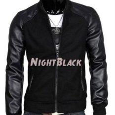Rnw Jaket Kombinasi Ariel Black Night - Hitam [Black]