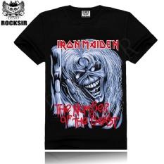 Blacklabel Kaos Hitam Bl Iron Maiden 48 T Shirt Rock Star Metal Band Source · Band