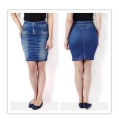 rok skirt pelangsing hitam