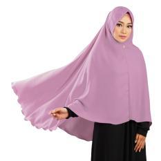 Khimar Rainbow Chikita Dusty Pink Hijab Syari Instan Jilbab Instan Source Jual Produk RUMAN HIJAB Online