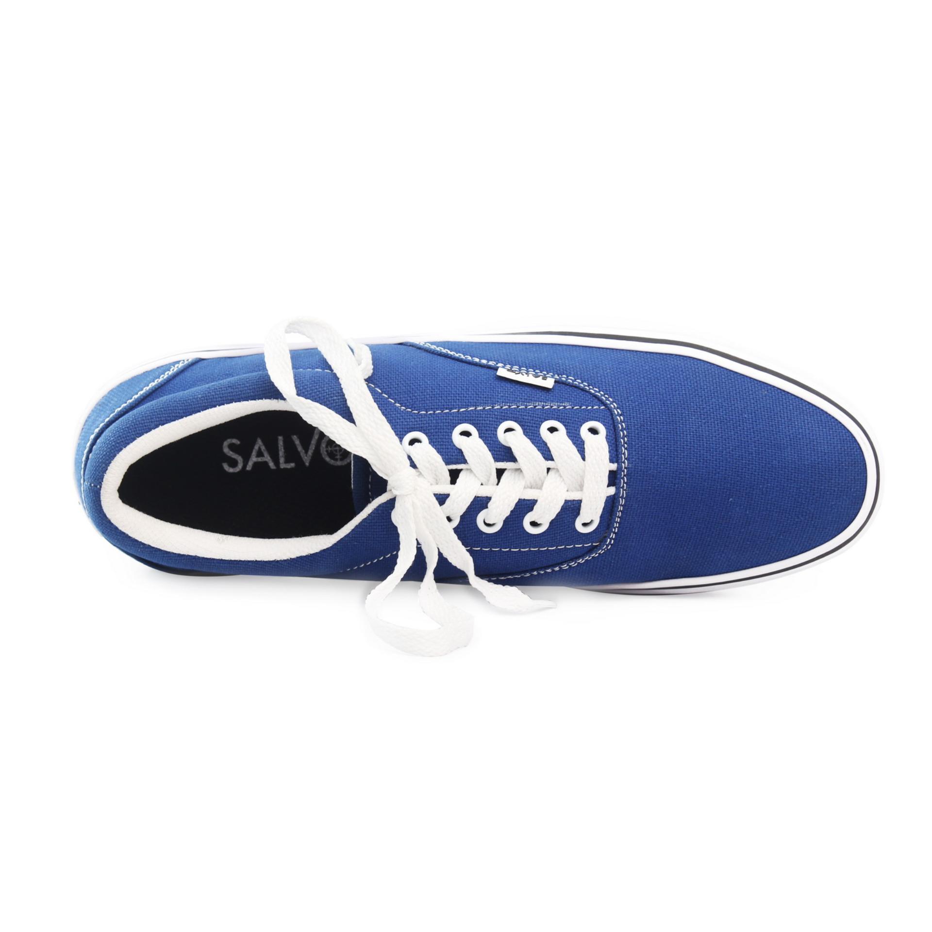 Diskon Penjualan Salvo sepatu sneaker pria A03-Biru Harga Termurah f1956557b2