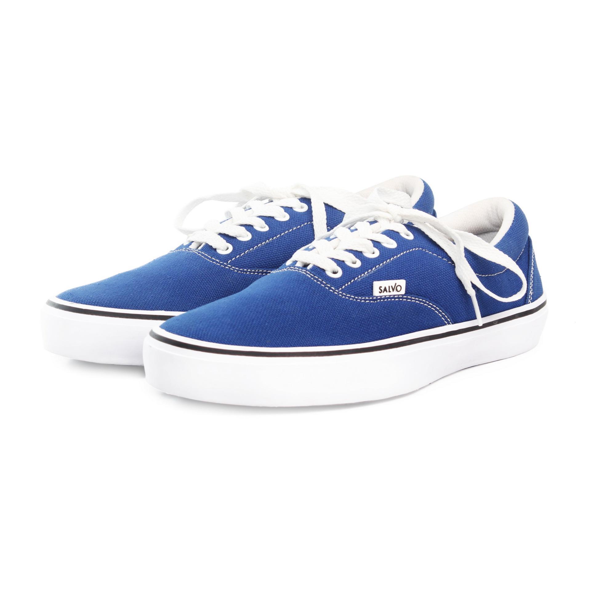 ... Salvo sepatu sneaker pria A03-Biru ...
