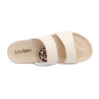 Salvora sandal trendy PW03 Krem - 5