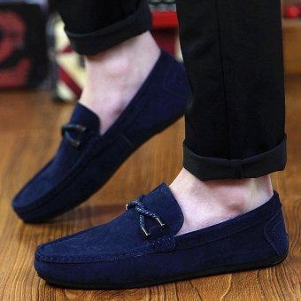 Harga Zoqi Mans Slip Ons&loafers Fashion Cow Suede Leather Shoes Source Seanut man .