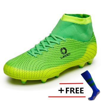 Sepatu 2017 bola untuk pria kuku panjang Football Sepatu Soccer cleat outdoor Football Sneakers