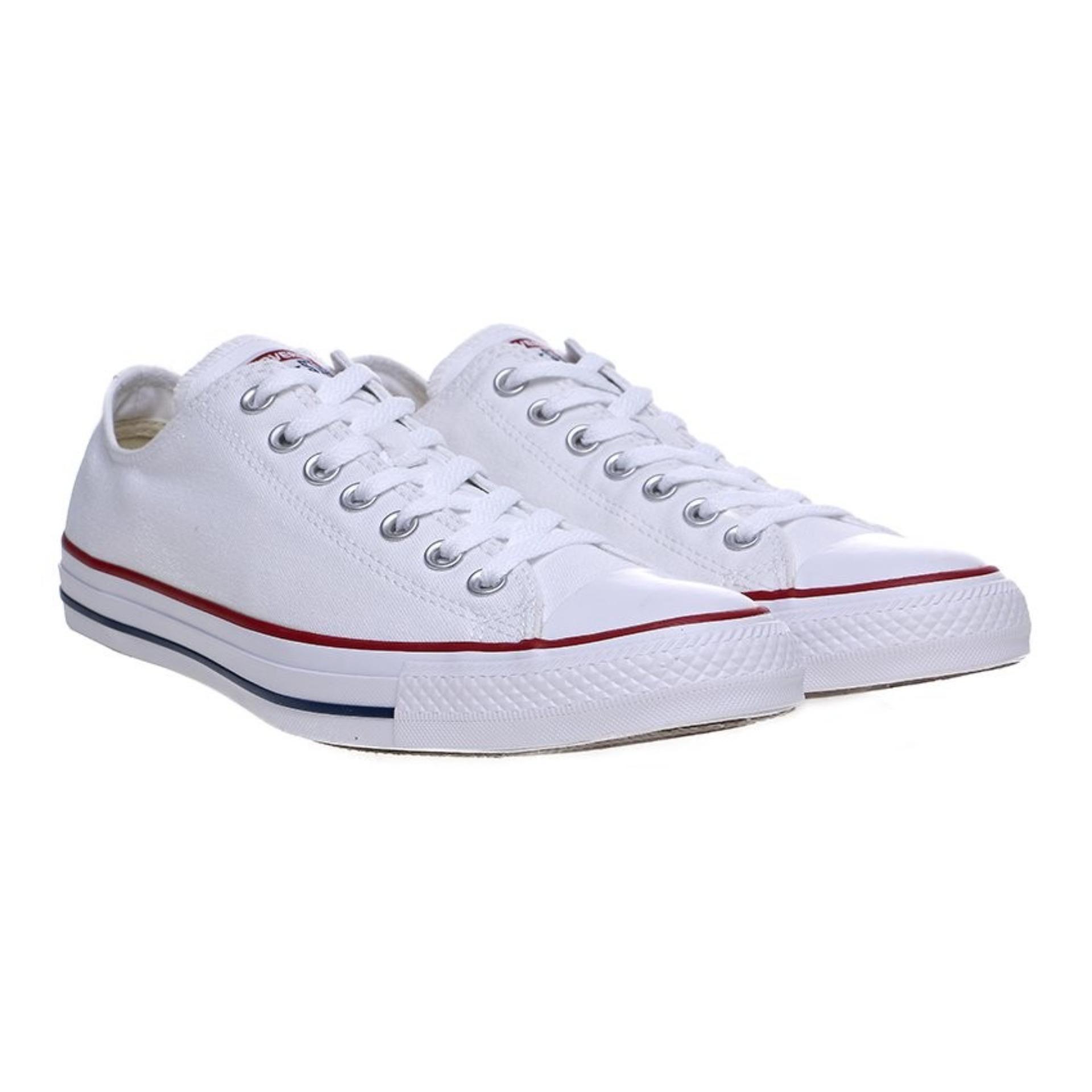 PastiMaksi Sepatu  BELI Sepatu Sneakers Wanita Hitam Line Putih 663e002017