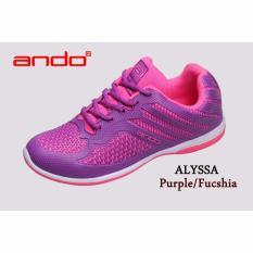 Sepatu Alyssa Purple Fuschia