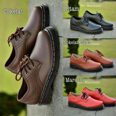 Sepatu Boots FASHION Athleisure DR Marteen Docmart 3 Hole Pria & Wanita Trekking .
