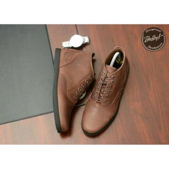 Jual Sepatu Boots Pria Bradleys Brodo Morgan kulit asli Brown Online ... dfcca88a10