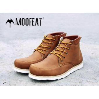 Jual Sepatu Boots Pria Moofeat Edward Original Tan Online Terbaru ... 3e69355b85