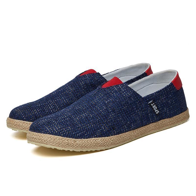 Sepatu Casual Sepatu Pria Baru Sepatu Linen Sepatu Sepatu PelatihSepatu Sepatu Murah Men's Casual Shoes Linen