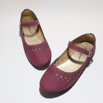 Gambar Sepatu Flatshoes Gratica AW65 Maroon