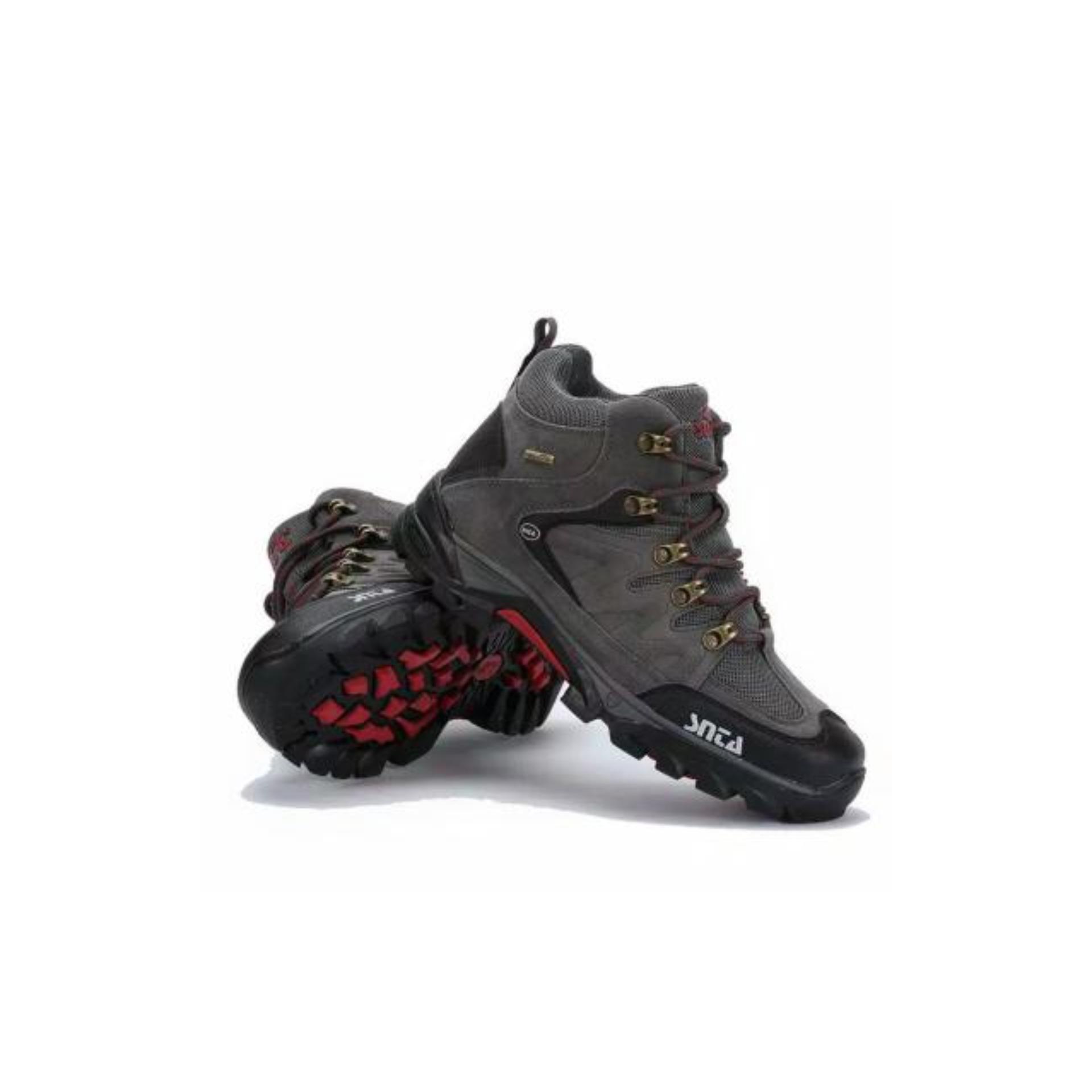 Snta Sepatu Hiking Wanita Outdoor 602 01 Series Cokelat Gunung 471 Trekking