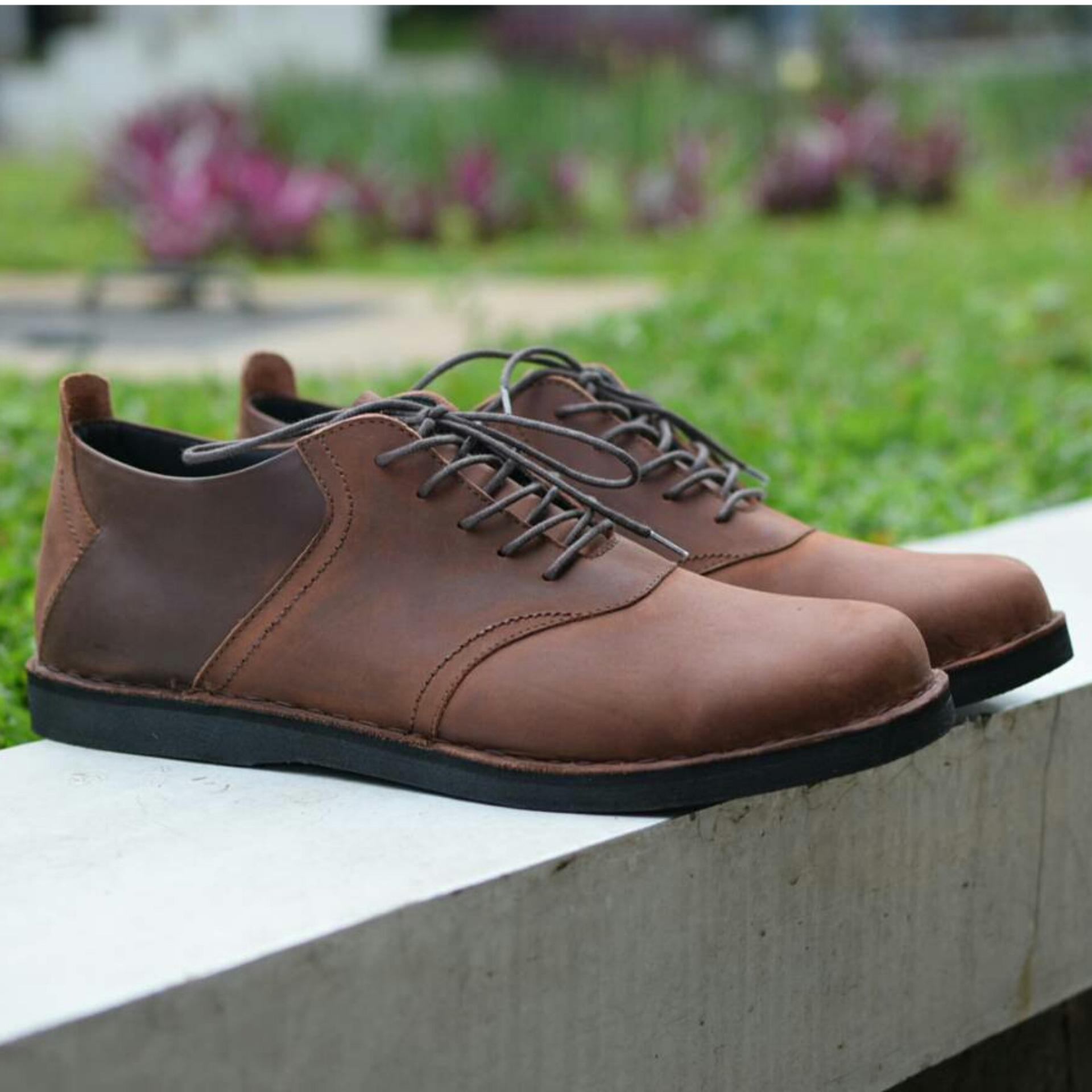 Sepatu Kasual Formal Pria Kulit Asli Toods Spectre Brown Daftar Footwear Longwing Black Source