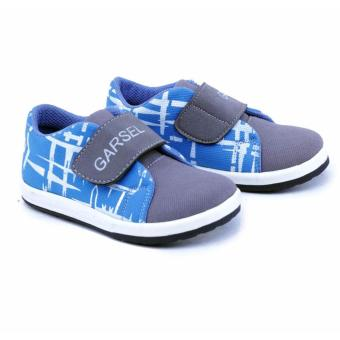 Distro DS 419 Sepatu Sneakers Anak Laki Perempuan untuk sekolah, jalan, santai, olahraga