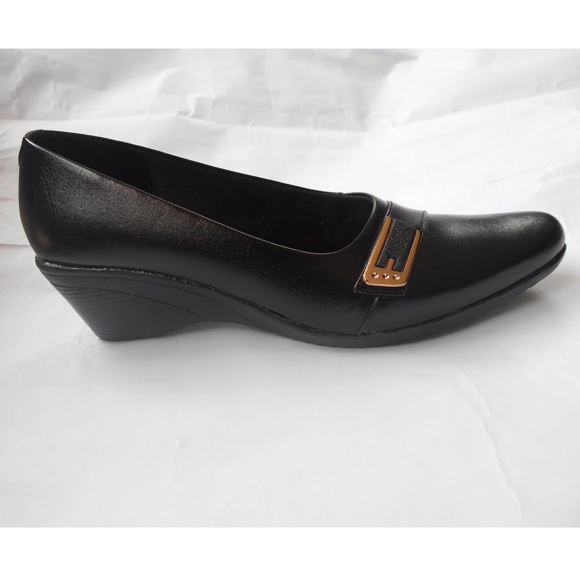 2016 Baru Lapisan Kepala Sapi Murni Buatan Tangan Pergelangan Kaki Sepatu Boots Wanita E Pb34 Kerja Kulit Hitam