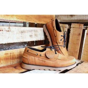 Jual Sepatu Kulit Boots Pria Bradleys Zapato Tan Sekelas Brodo ... b422fec180