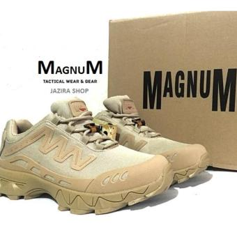 "Sepatu MAGNUM Low Boots 4"" Tracking shoes Import Desert"