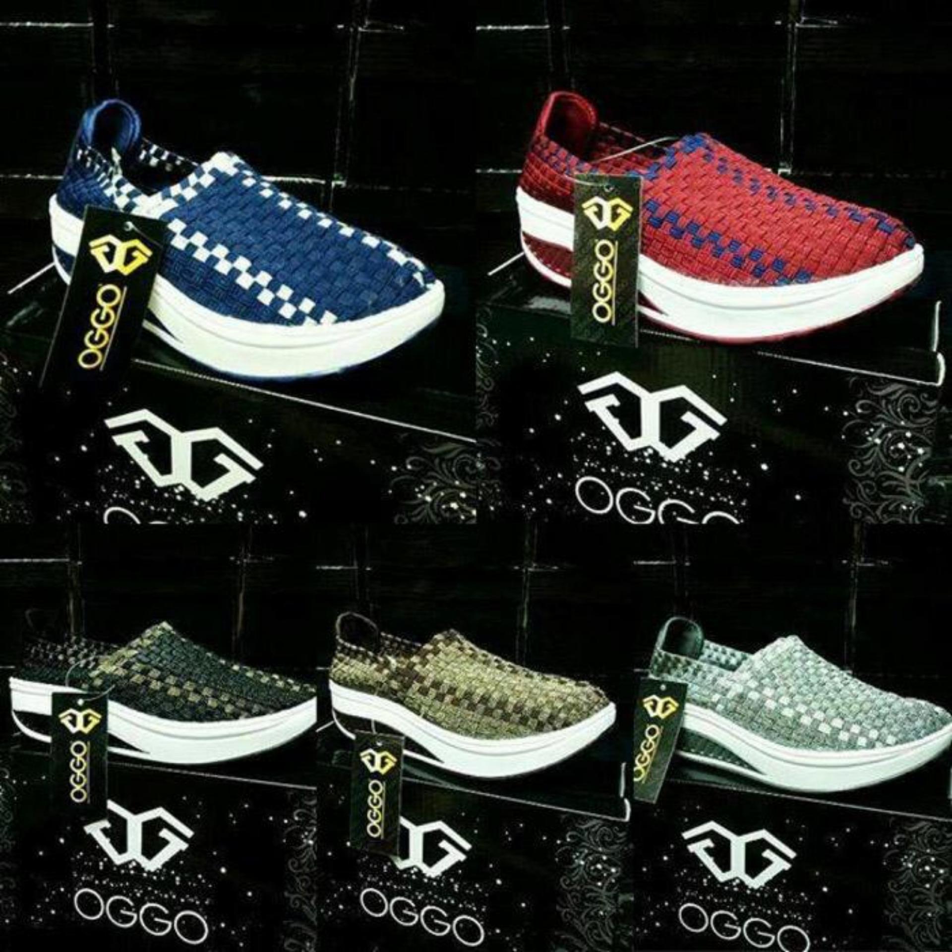 New Sepatu Anyam Kiddo Wedges Type 168 1 Daftar Harga Terlengkap Rajut Flat Include Box Semua Tipe Oggo 602 Gold