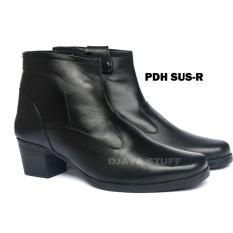 Sepatu PDH R  Boots  Sepatu Kerja Wanita  Kulit Sapi