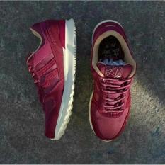 Sepatu PIERO JOGGER PREMIUM BURGUNDY Sneakers Casual Kets