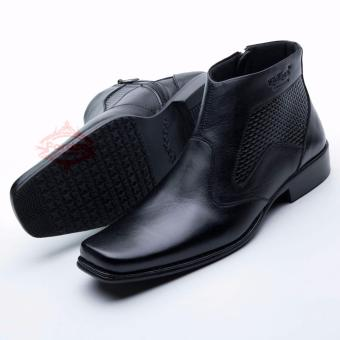 D Island Shoes Boots Sole Rubber High Quality Leather Soft Brown Source · Sepatu Pria Boot