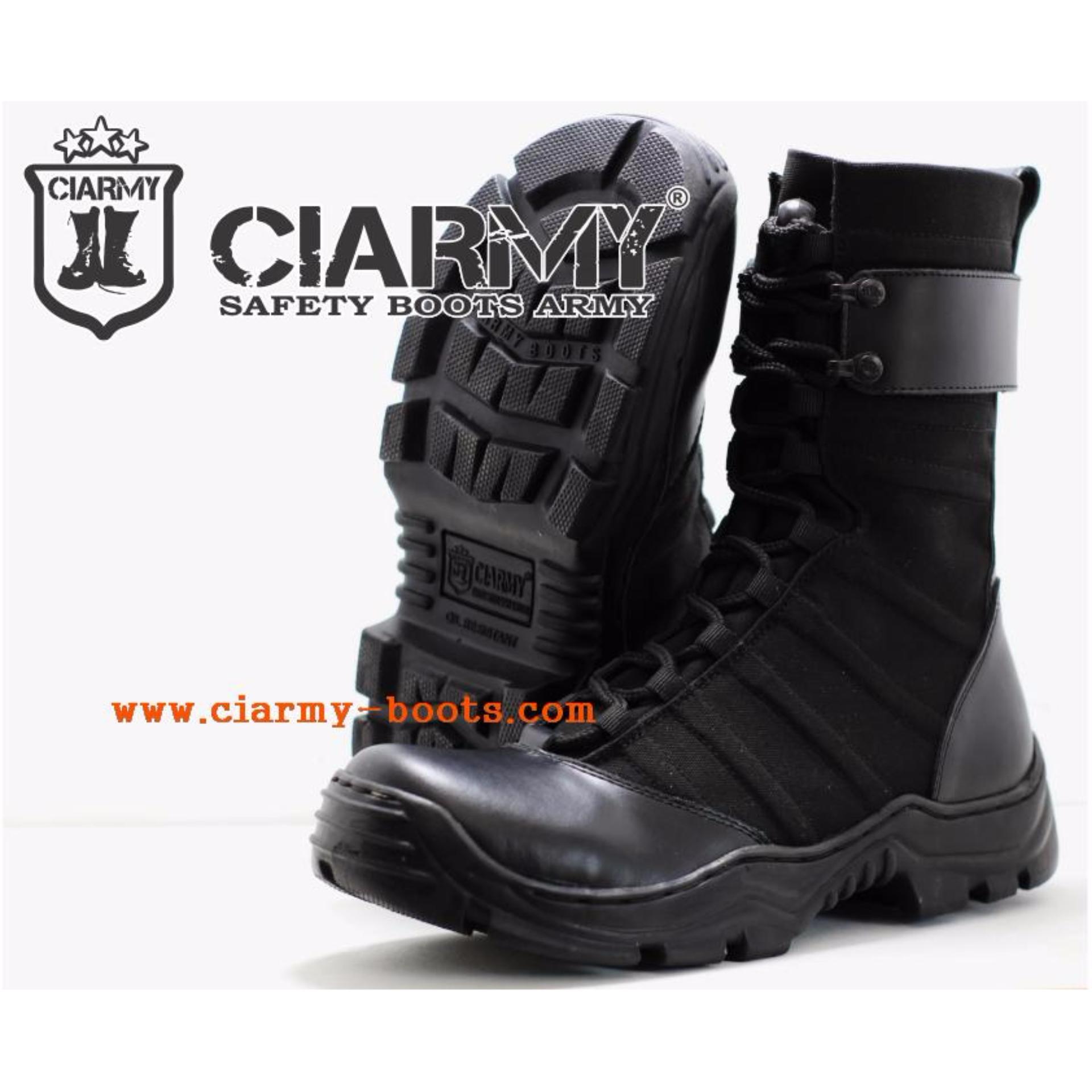 Sepatu Pantofel Kerja Pdh Pdl Ciarmy C 050 Sr Spec Dan Daftar Pkd Atau Provos Jahit Pria Boots Ninja Hatori 071